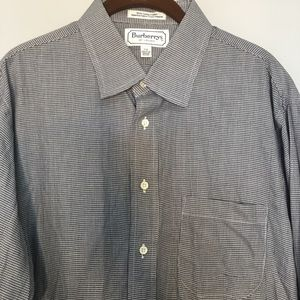 Vintage BURBERRY'S OF LONDON 17-35 houndstooth top